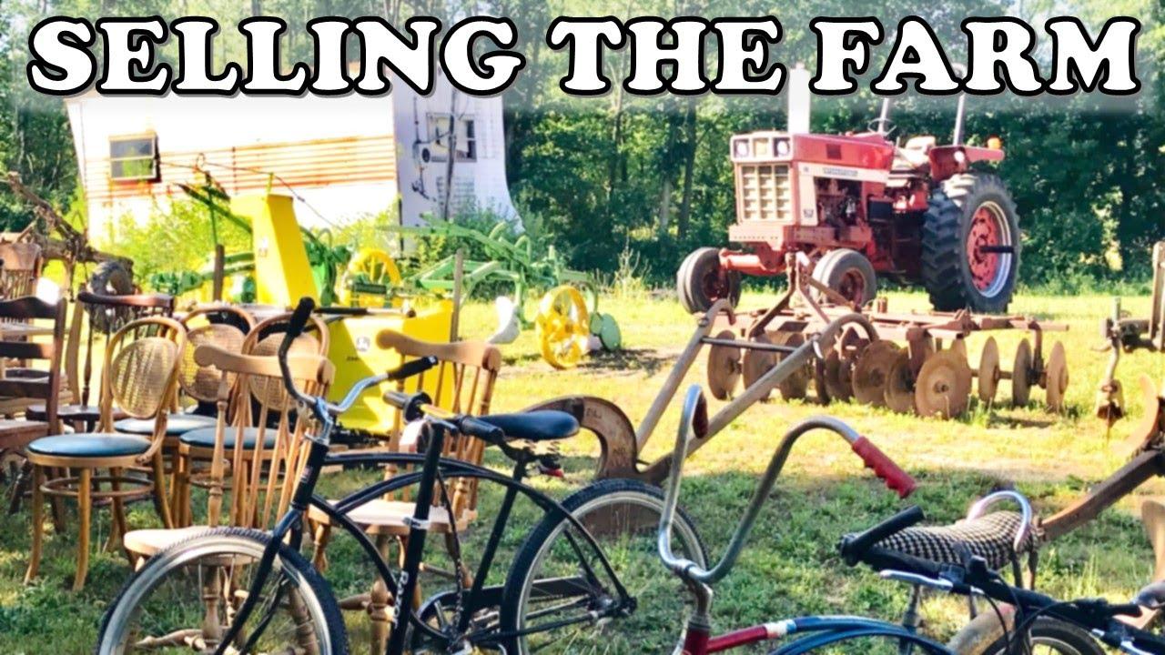 Rustic Farm Auction Day - It's ALL Gotta Go!