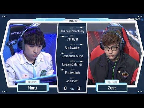 [2018 GSL Season 2] Code S Finals Maru vs Zest