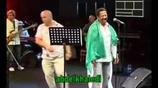 Cheb Khaled &  Blaoui El Houari zabana  live 2011