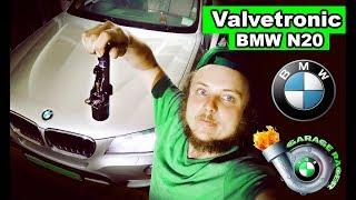 замена valvetronic BMW n20, закоксованный ДВС, растянутая цепь?