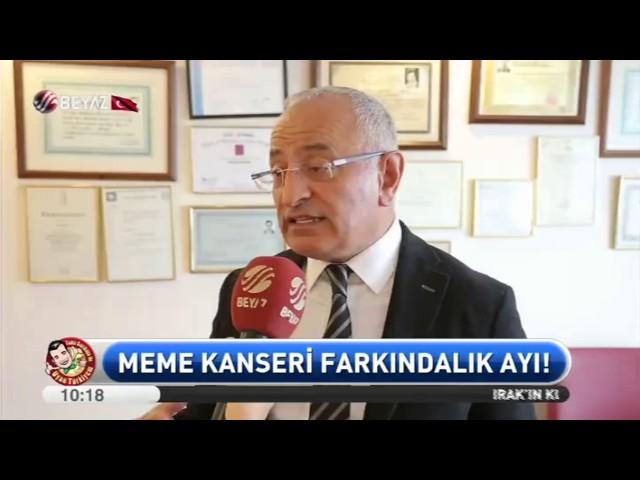Prof. Dr. Hasan Taşçı - Meme Kanseri - Beyaz Tv