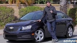 2014 Chevrolet Cruze Diesel Test Drive Video Review