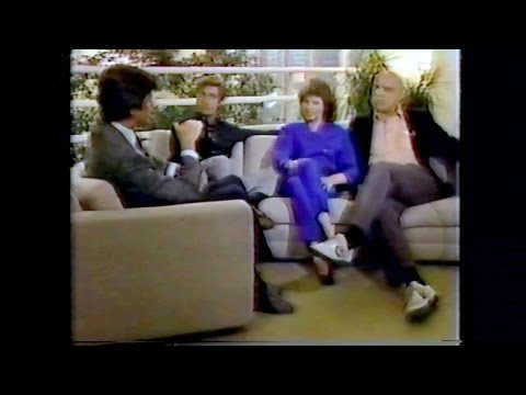 THE EDGE OF NIGHT ON LA TODAY MAY 1984  KABC 7 LOS ANGELES.