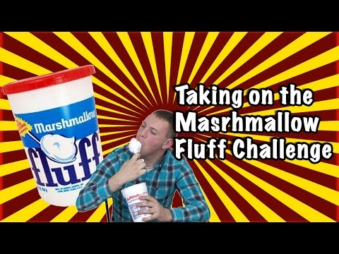 One Pound of Marshmallow Fluff Challenge | Give Us A Challenge