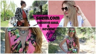 Ordering From Shein.com (sheinside Fashion Haul & Review)