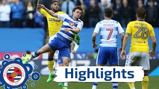 Reading 1-0 Leeds United, Sky Bet Championship, 1st April 2017 (2016/17 highlights)