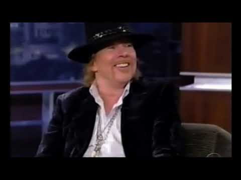 axl rose of guns n roses interview with jimmy fallon