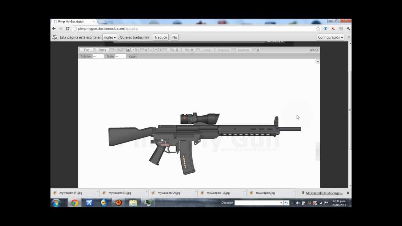 Aplicaci n para dise ar un arma youtube for Aplicacion para disenar interiores