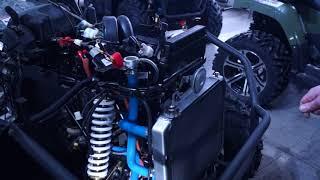 квадроцикл RM 800 особенности заправки антифризом