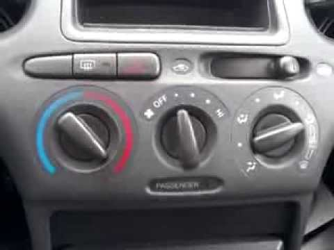 How To Fix Unstick A Stuck Fan Vent Selector On A Toyota