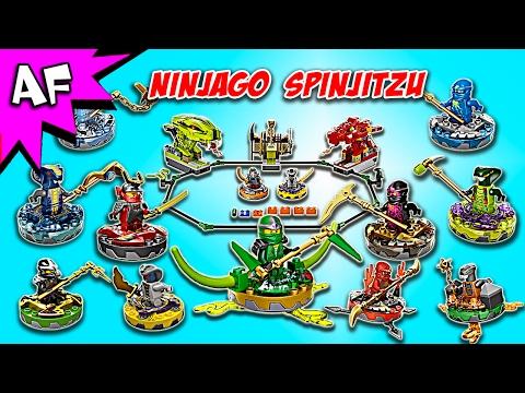 Lego Ninjago SPINJITZU Battles Compilation!