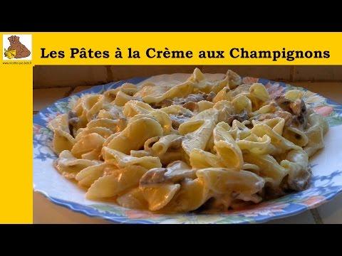 les-pâtes-à-la-crème-aux-champignons-(recette-rapide-et-facile)-hd