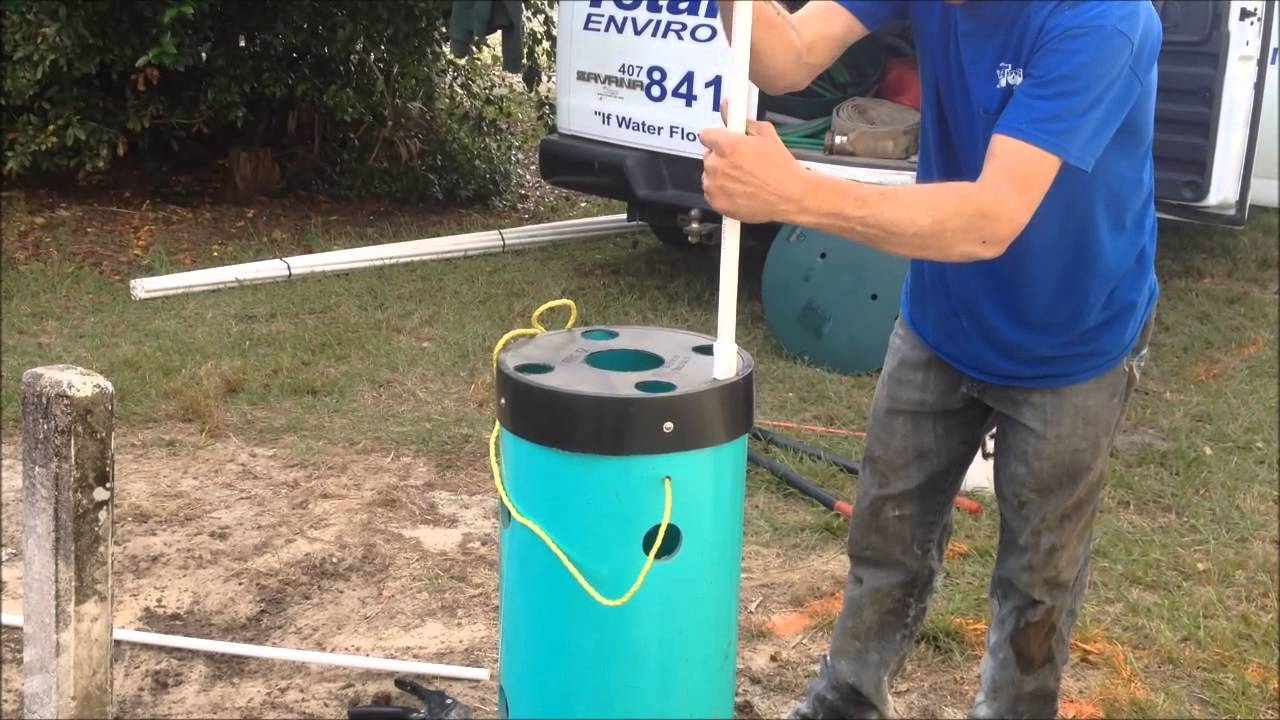 How To Install A J A W S System For You Septic   Lift Station