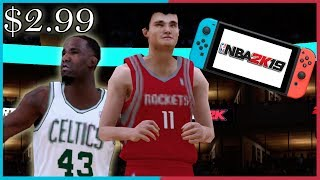 I Bought NBA 2K19 On The Nintendo Switch For $2.99...