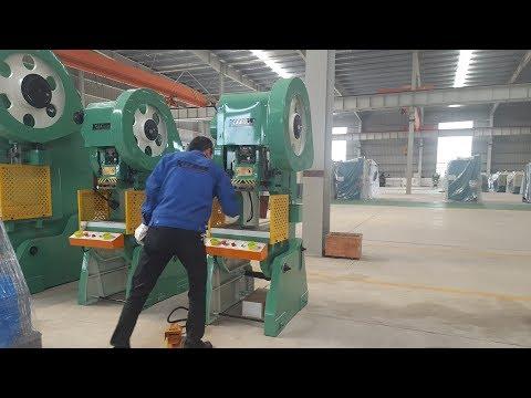 JB23 80 ton Power Press Machine made In China , 80t Pneumatic Punching Machine