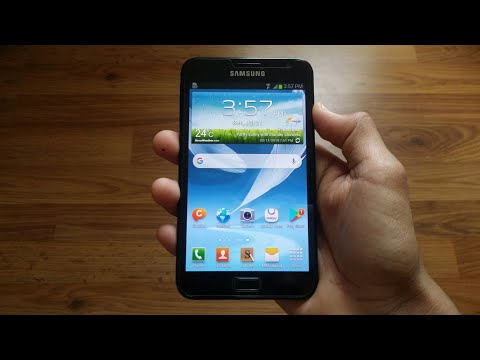 Samsung Galaxy Note GT-N7000 Review In 2019