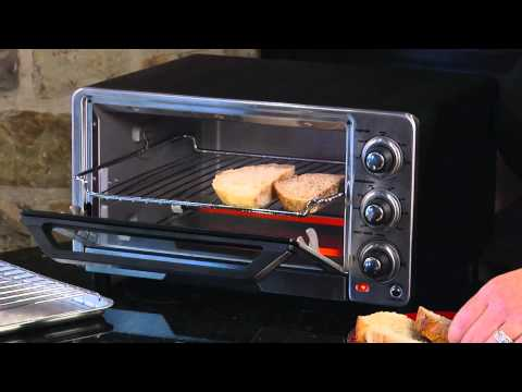 Cuisinart Custom Classic Toaster Oven Broiler (TOB-40) Demo Video