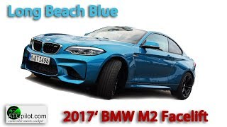 BMW M2 / F87 *Long Beach Blue* pickup at the store