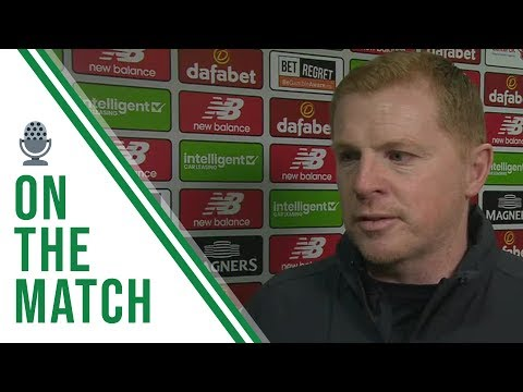 Neil Lennon on the Match   Celtic 2-1 Hamilton   Broony secures dramatic late victory!!