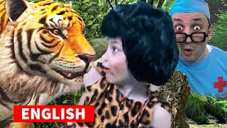 How the boy from the Jungle taught Peter to brush his teeth | Modern English FAIRY TALE