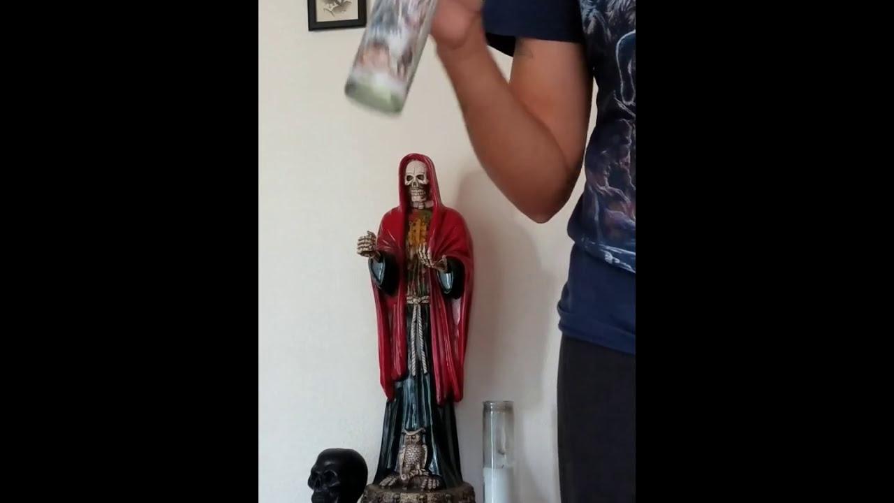 How I Setup My Santa Muerte Altar