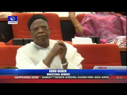 Senate Screens Audu Ogbeh As Ministerial Nominee 13/10/15 Pt.1