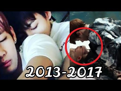 "VKOOK Evolution [2013-2017] BTS ""Taehyung & Jungkook"""