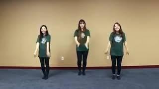 Gerakan dance Natal
