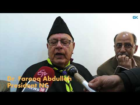 Kashmir is landlocked; independence not an option: Farooq Abdullah