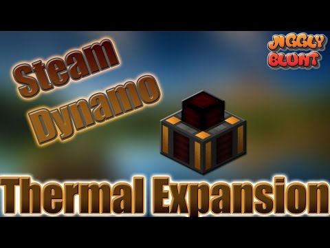 Steam Dynamo (Thermal Expansion) | Minecraft Mod Tutorial