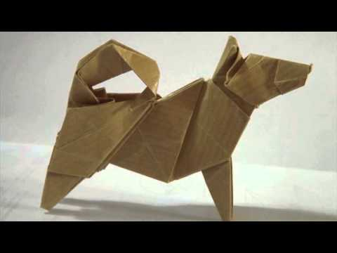 origami dog youtube