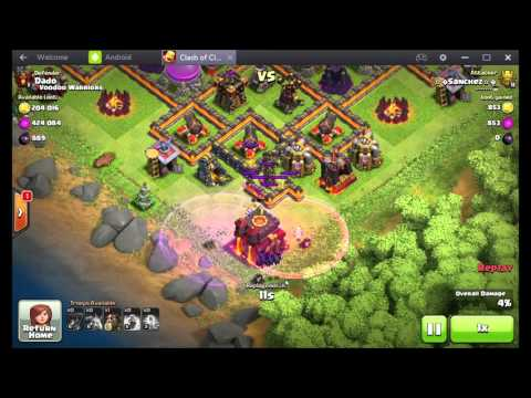 Extreme attack TH 10 Clash of Clans