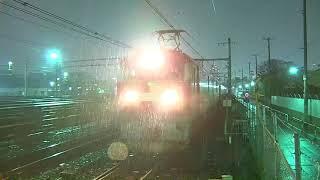 2017.11.22寝台列車カシオペア号試運転(赤羽~尾久)【金太郎】