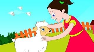 Mary had a Little Lamb- Nursery Rhyme with Lyrics