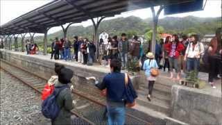 Pingxi Line (平溪線) Train Front Cabin View (Full Trip)
