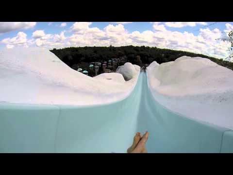 [HD] Slush Gusher at Blizzard Beach Water Park (Orlando, FL)