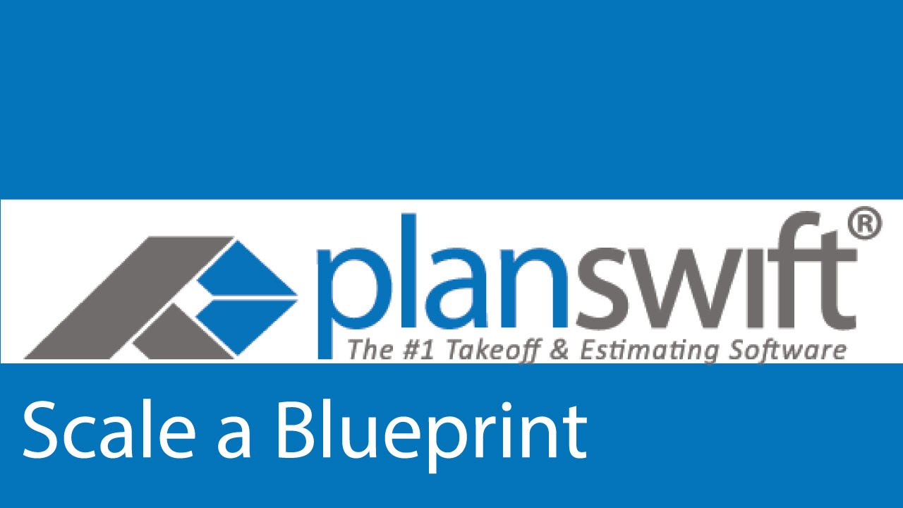 How to scale a blueprint page in the planswift software youtube how to scale a blueprint page in the planswift software malvernweather Choice Image