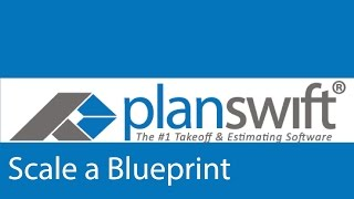 How To Scale A Blueprint Page In The Planswift Software