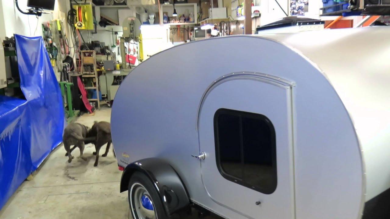 """Great Lakes Teardrops Sierra 509 Teardrop camper """"tiny is the"""