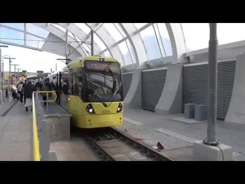 Manchester Metrolink Tram Ride - Victoria to Piccadilly
