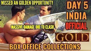 Gold Box office vs Satyameva Jayate