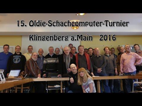 Oldie - Schachcomputerturnier   Klingenberg 2016   (Musik: Schluff Jull)