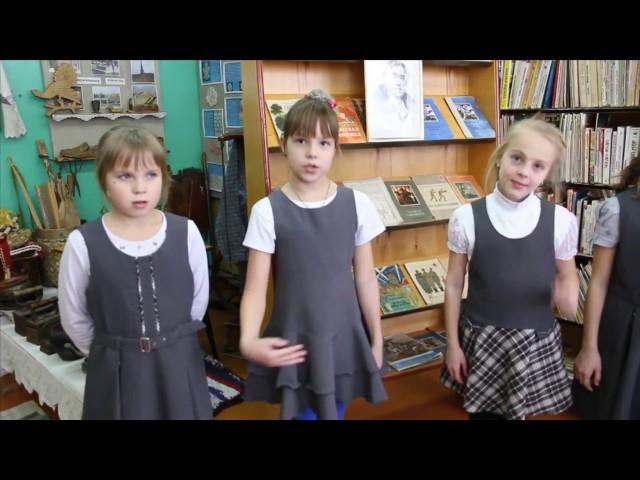 Изображение предпросмотра прочтения – «Учащиеся 3 класса Присухонской школы» читает произведение «Стрекоза и Муравей» И.А.Крылова