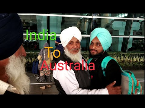 Delhi To Sydeny 🇦🇺🇦🇺🇦🇺 Journey L Heart Touching ..