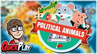 QuickPlay: Political Animals   First Impressions / Review / Gameplay   Retromation