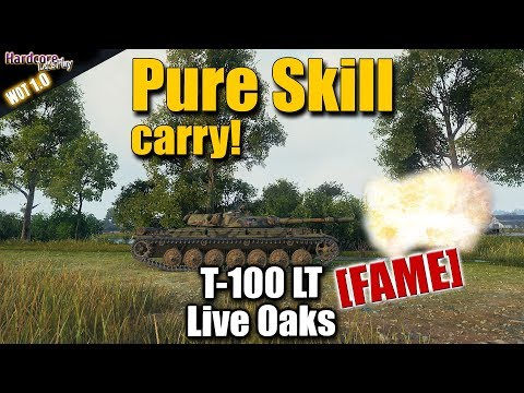 WOT: T-100 LT, Dakota_Is_Beast [FAME] pure skill carry, WORLD OF TANKS thumbnail