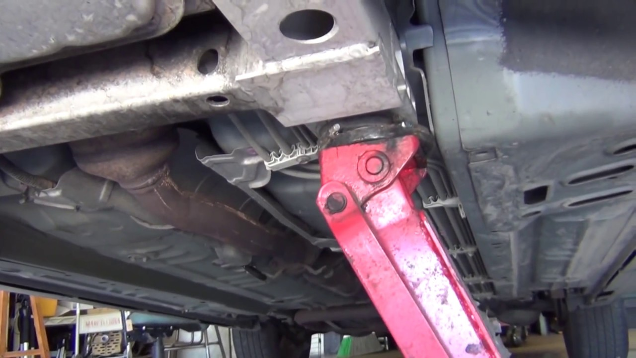 Delta Sonic Oil Change >> How to jack up your car without jacking up your car - YouTube