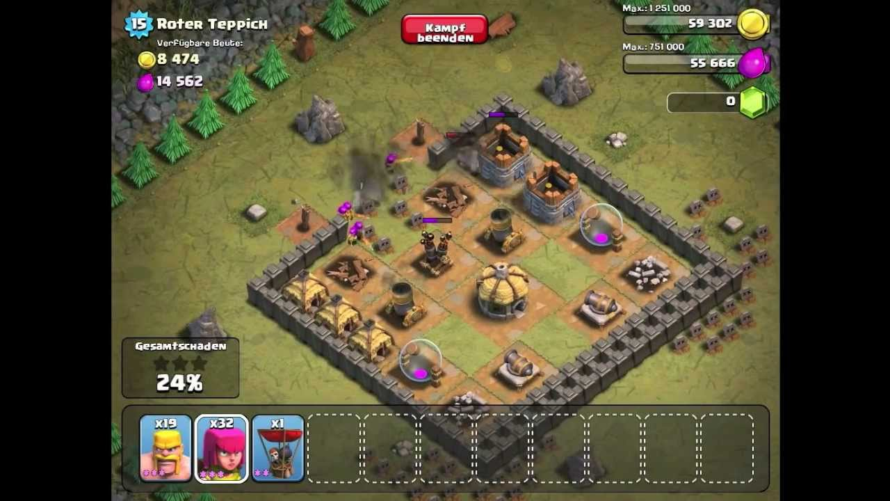 Coc Roter Teppich Level 29 Roter Teppich Clash Of Clans Einzelspieler Neu