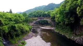 ある日、二つの古い石橋から   -豊後大野市 轟橋と出合橋-