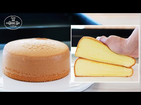 How To Make Vanilla Sponge Cake / Fluffy Cake Recipe / Easy Cake / Genoise
